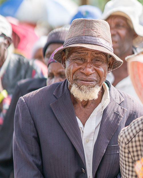 This man waiting to receive medical care in Zimbabwe is a part of the 'Lost Tribes of Israel'