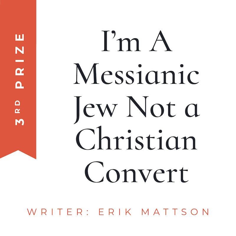 messianic jew christian convert